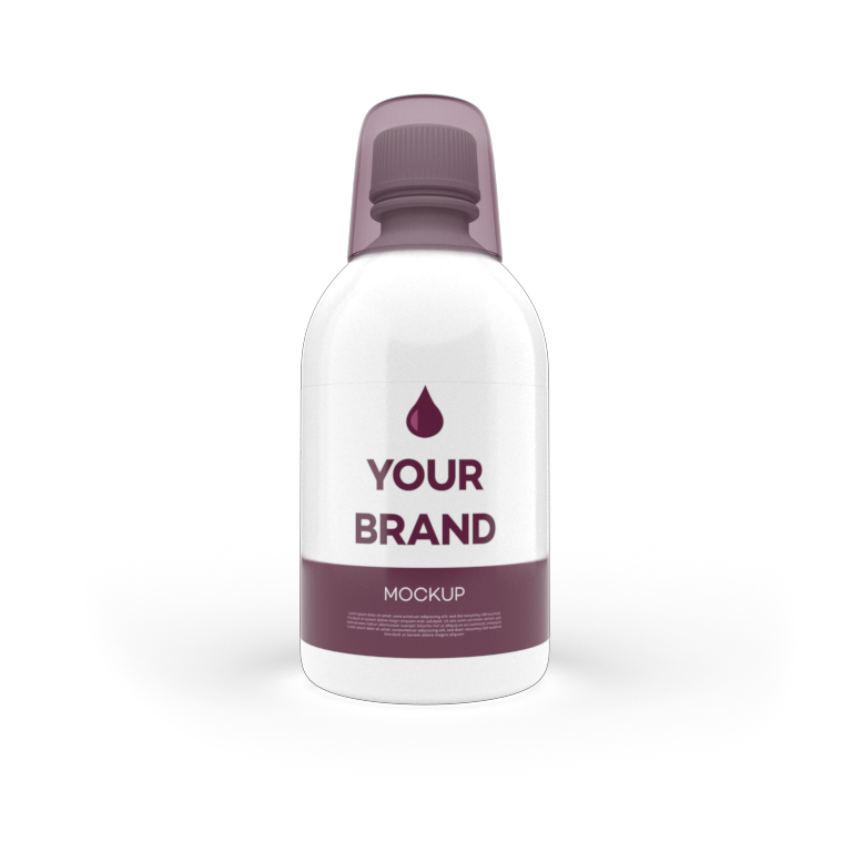 Manufacturer Nutrition Wellness: bottle with measuring cap